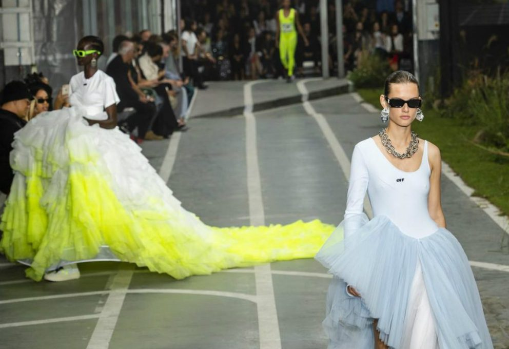 OFF WHITE, VIRGIL ABLOH PENSA ALLA SPORTY-COUTURE