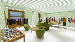 Mame Moda Prada in via della Spiga si inaugurano i nuovi spazi. Piano superiore