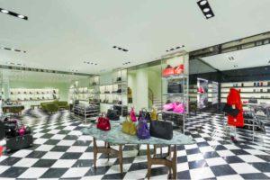 Mame Moda Prada in via della Spiga si inaugurano i nuovi spazi. Piano inferiore