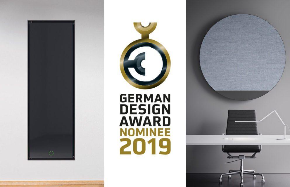 TUTTO SUL GERMAN DESIGN AWARD 2019