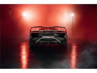 Vista posteriore Lamborghini SC18 Alston