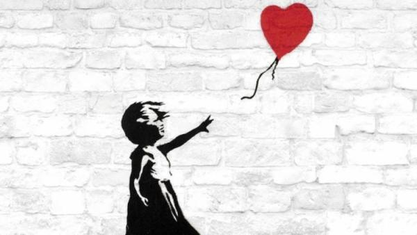 Mame arte A VISUAL PROTEST. THE ART OF BANKSY girl