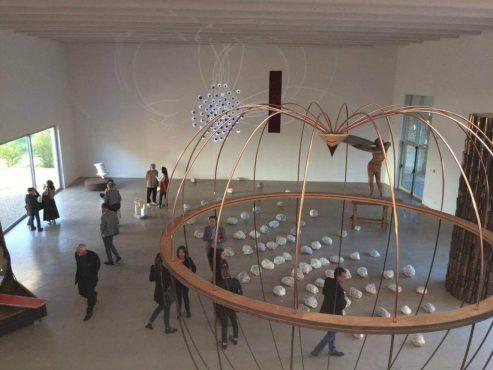 Mame arte GERMANO CELANT ANALIZZA IL PERCORSO ARTISTICO DI MARCO BAGNOLI L'atelier di Marco Bagnoli