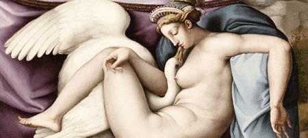 """Mame arte Gli animali nell'arte. Dal Rinascimento a Ceruti""""bachiacca_leda_e_il_cigno_1540_circa-1.jpg"""