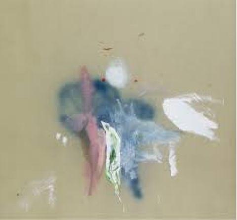 Mame arte GALLERIA FEDERICO RUI. DIALOGHI Martina Antonioni La strategia del tiglio, 2018 acrilico, matita, vernice spray e smalto ad acqua su tela