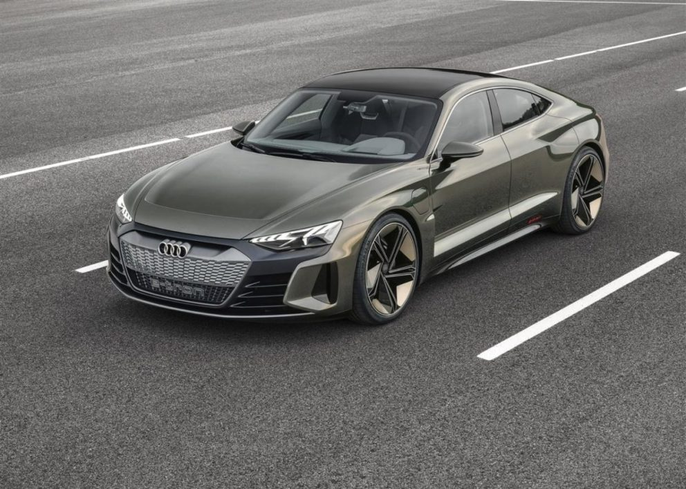 Audi E-Tron GT la supersportiva elettrica