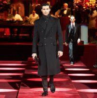Dolce&Gabbana autunno 2019 opulento. Cappotto doppiopetto