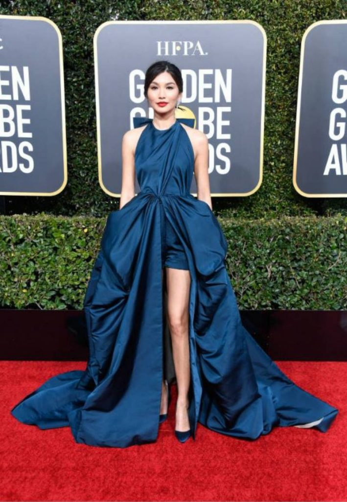Golden Globe 2019, i look del red carpert. Gemma Chan