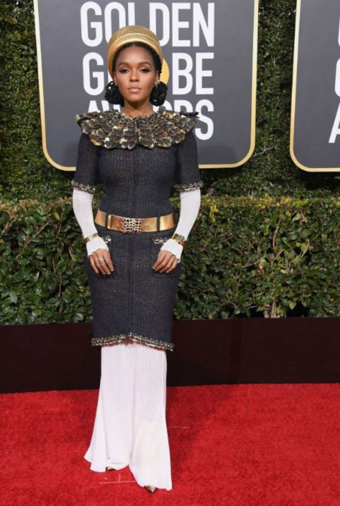 Golden Globe 2019, i look del red carpert. Janelle Monae