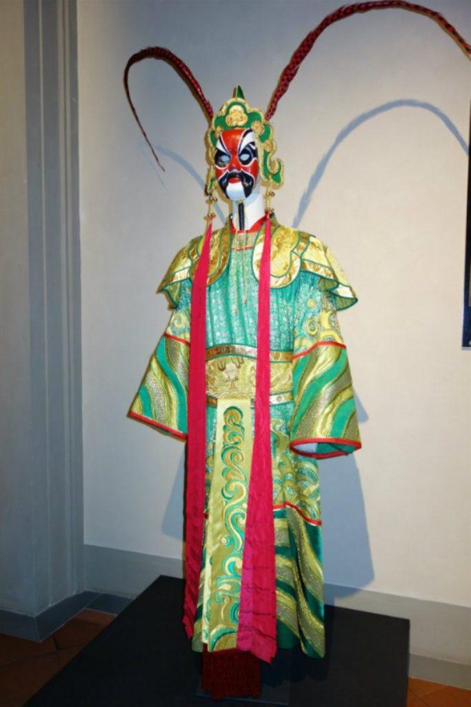 Museo Zeffirelli - otto nuovi costumi di scena. Costume Turandot