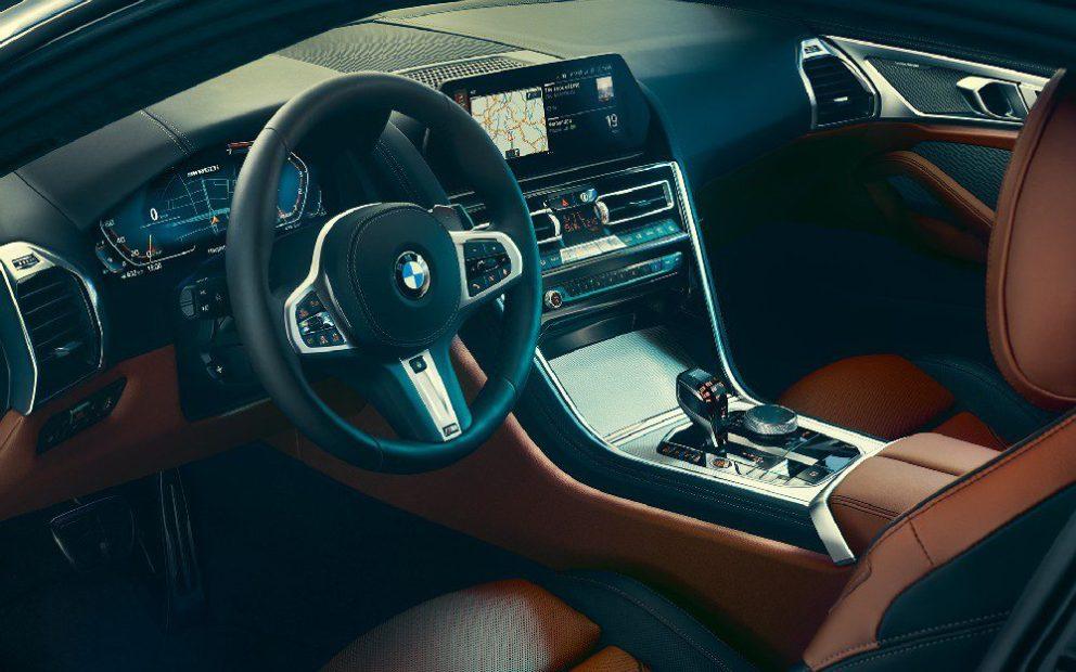 Nuova BMW Serie 8 eleganza e sportività negli interni