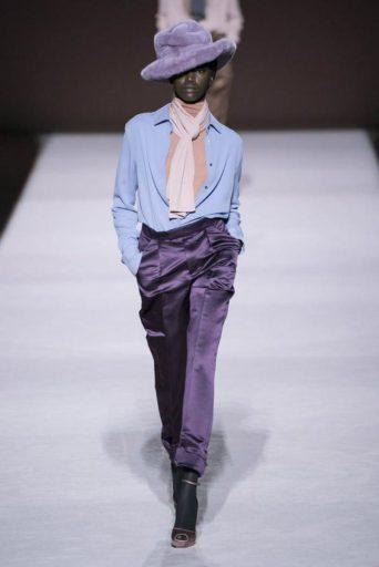 Caos nella New York Fashion Week. Look Tom Ford AI 2019-20