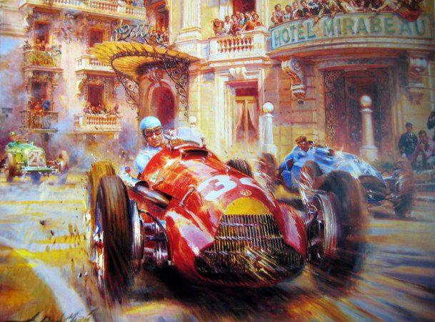 Alfa Romeo Racing Vince due  Mondiali F1 con Manuel Fangio