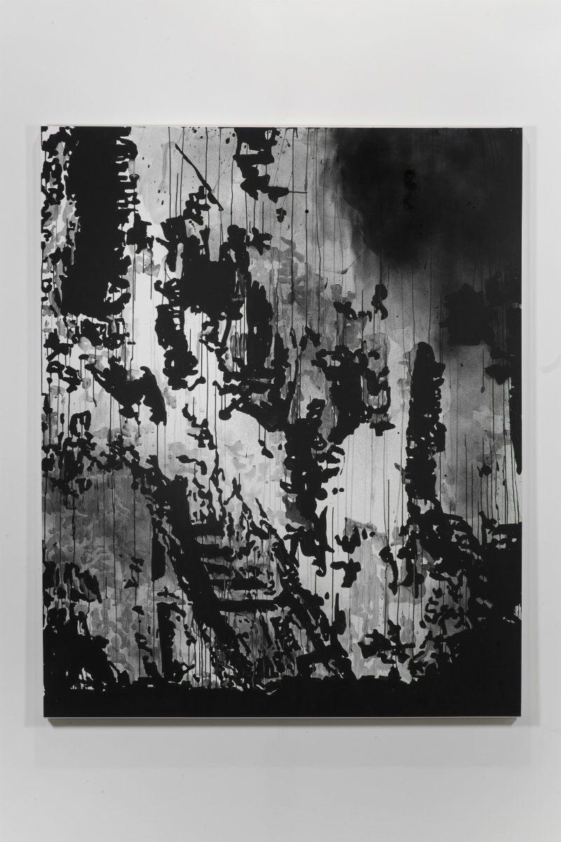 Un'opera di Monica Bonvicini della Collezione Fondazione Fiera Milano