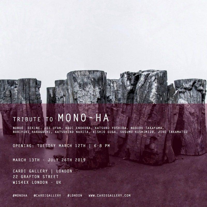 """""""Tribute to Mono-Ha"""", alla galleria Cardi di Londra"""