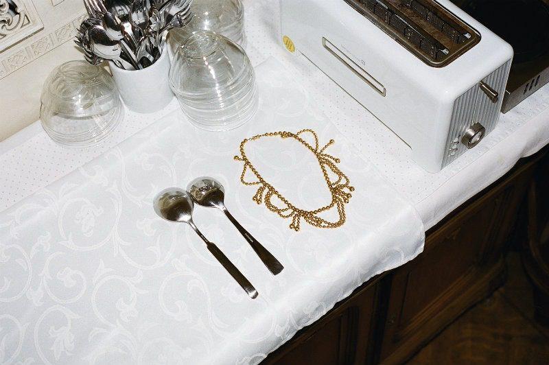 Collana metallo dorato