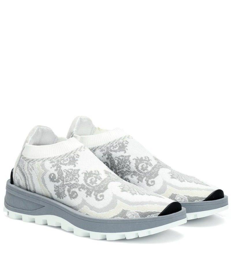 Etro modello sneakers effetto calza