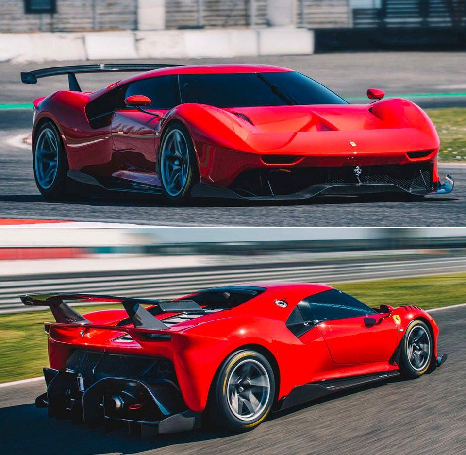 Ferrari P80C non omologata per la strada