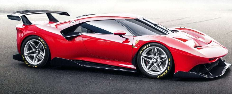 One off Ferrari P80/C