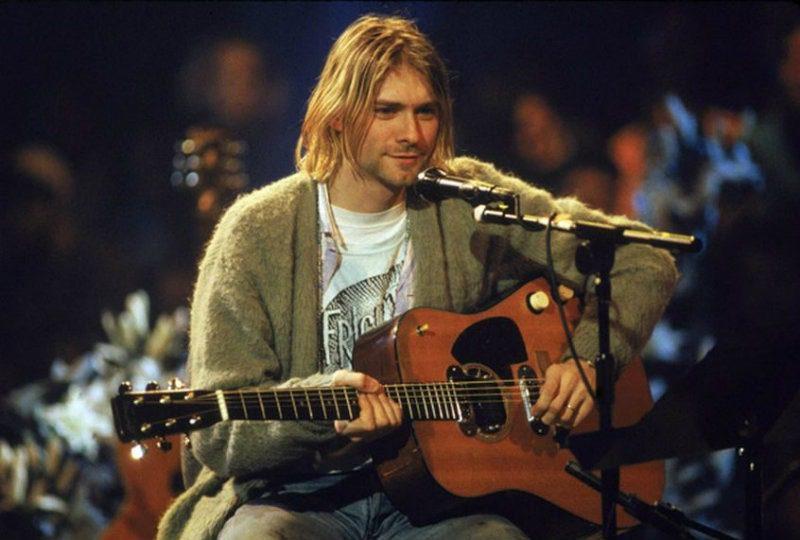 Nirvana concerto MTV