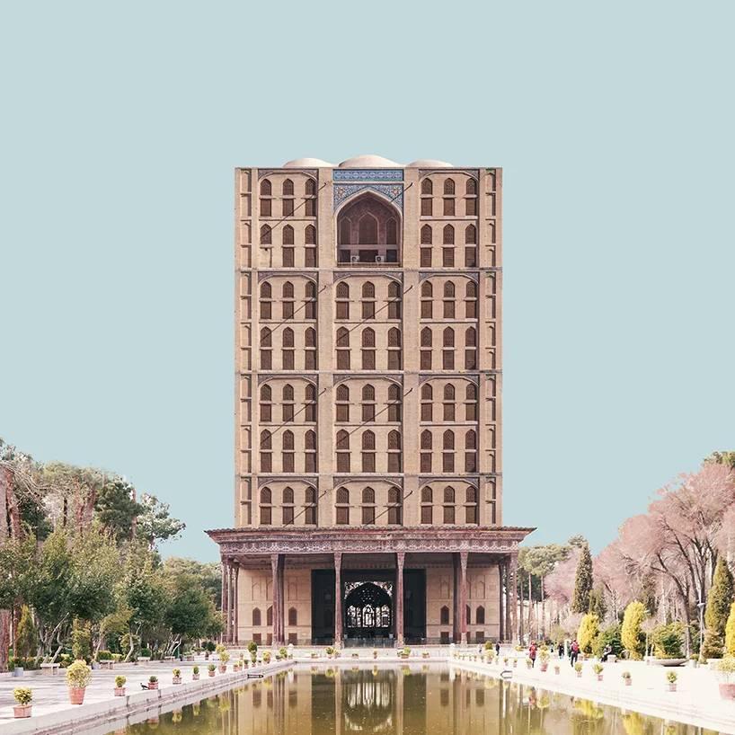 Farouzanafar chehel sotoun palace