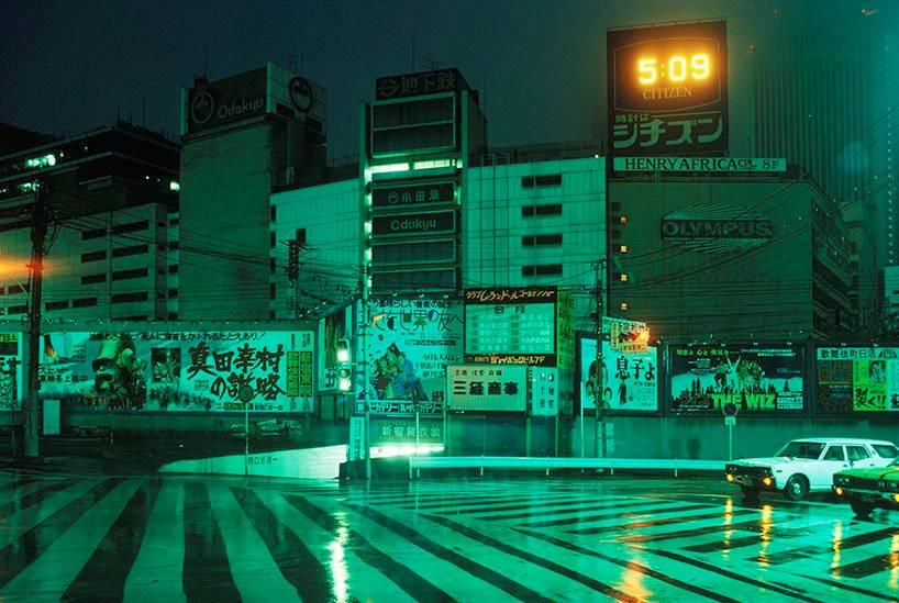 Greg Girard fotografie di Tokyo anni '70