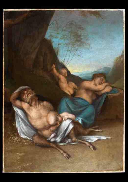 Mame arte IL RINASCIMENTO DI PORDENONE E ALTRI CELEBRI ARTISTI DELL'EPOCA Sebastiano del Piombo_ Famiglia del satiro