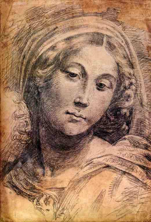 Mame arte IL RINASCIMENTO DI PORDENONE E ALTRI CELEBRI ARTISTI DELL'EPOCA Testa di Madonna