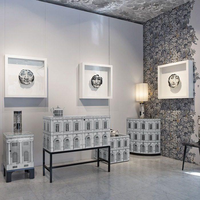 design: Fornasetti e Dell'Acqua: S/oggetti parziali