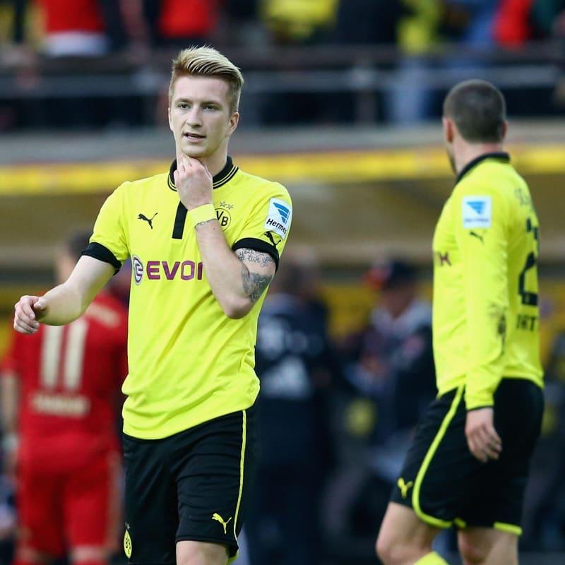 Marco Reus partirà dalla panchina in Borussia Dortmund Inter Sensi in dubbio