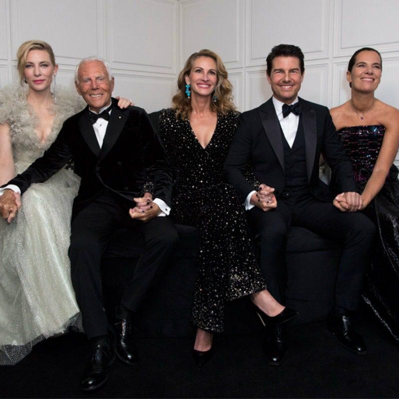 Giorgio Armani British Fashion Awards 2019