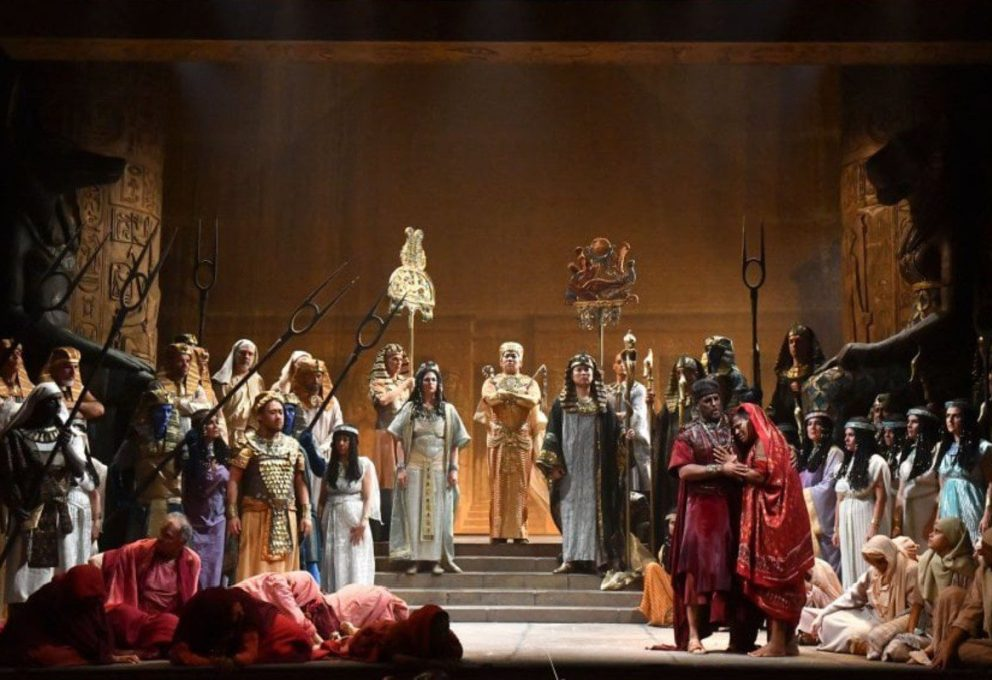 """Su Rai 5 il """"Nabucco"""" di Giuseppe Verdi dall'Arena di Verona"""