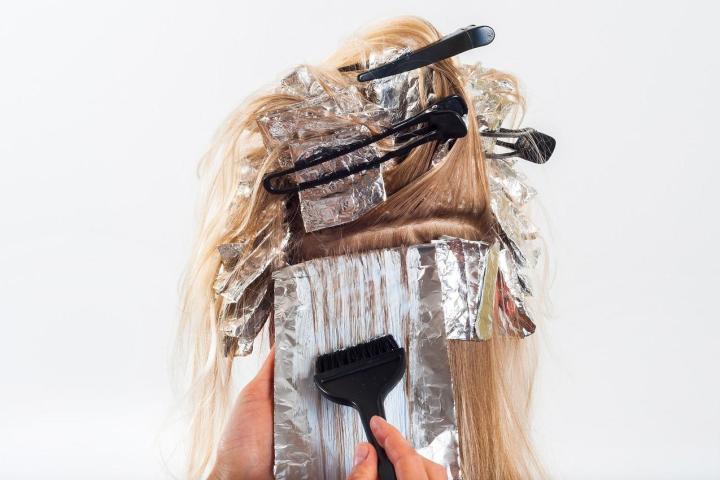 Pielęgnacja włosów w salonie fryzjerskim