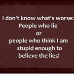 Why Do People Lie?