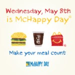 #McHappy Day is Wednesday May 8th