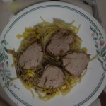 Sweet and Zesty Pork Tenderloin- Slow Cooked