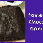 Homemade Chocolate Brownies – Super Moist