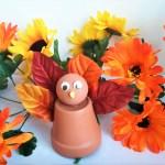 Clay Pot Turkey – Easy Fall Crafts
