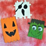 Popsicle Stick Monsters – Halloween Crafting with Kids