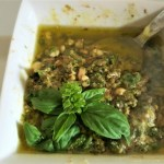 Pesto – Using Fresh Basil from the Garden