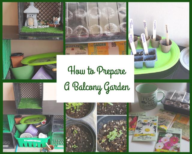 How to Prepare a Balcony Garden