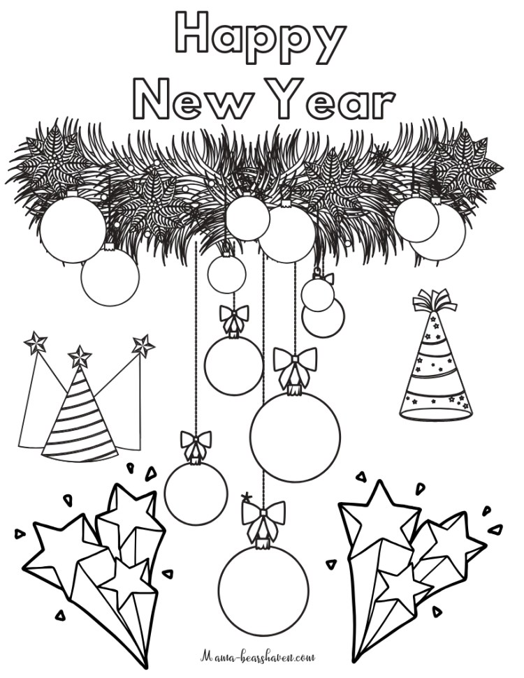 new year printable