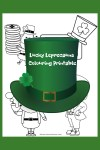 Lucky Leprechauns colouring printable