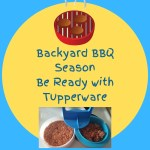 Backyard BBQ Season – Be Ready with Tupperware