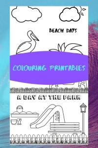 beach Days and at the park printables