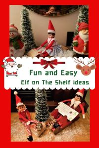 Fun and Easy Elf on the Shelf ideas