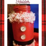 Santa Candy Cane Holder