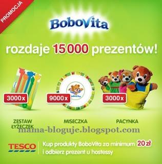 IS Promocja BV Tesco - Gratisy od BoboVity