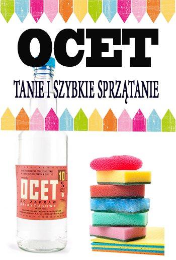 ocet - OCET - 10 RAD NA TANIE I SZYBKIE SPRZATANIE