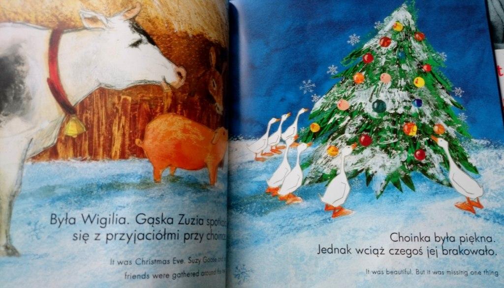Gąska Zuzia i Boże Narodzenie środek